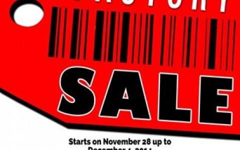 Cinderella Factory Sale @ Glorietta November - December 2014
