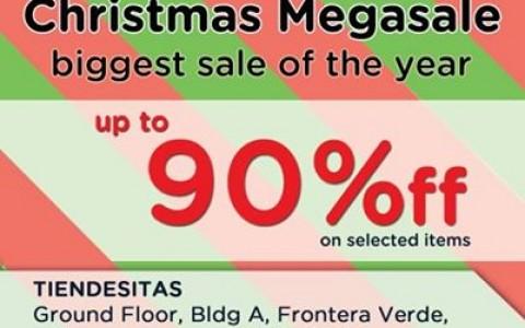 Crocs Christmas Megasale @ Tiendesitas November 2014