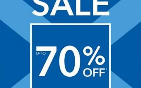 Debenhams Blue Cross Sale November 2014