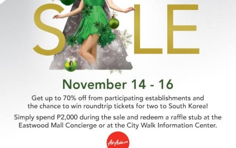 Eastwood City Pre-Holiday Sale November 2014