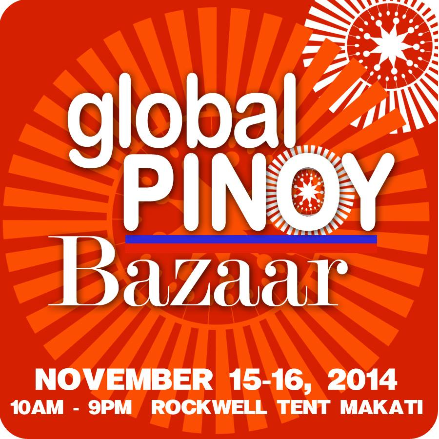 Global Pinoy Bazaar @ Rockwell Tent November 2014