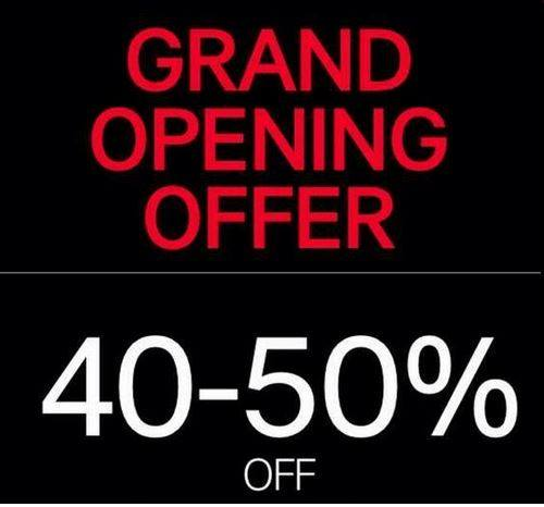 H&M Opening Offer Sale @ SM Makati November 2014