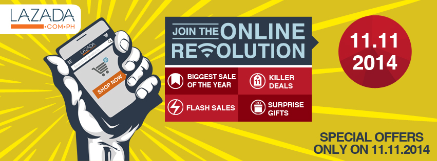 Lazada Online Revolution Sale November - December 2014