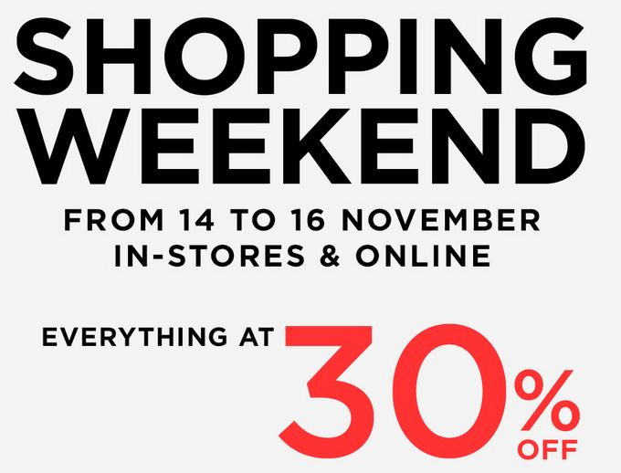 Mango Shopping Weekend Sale November 2014