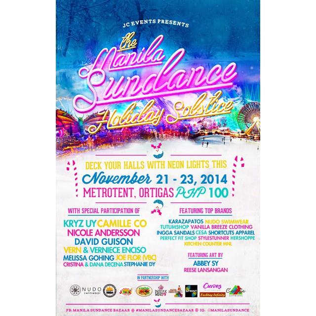 Manila Sundance Bazaar @ Metrotent, Metrowalk November 2014