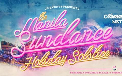 Manila Sundance Holiday Solstice Bazaar @ Metrotent, Metrowalk November 2014