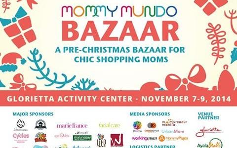 Mommy Mundo Pre-Christmas Bazaar @ Glorietta Activity Center November 2014