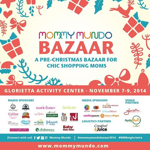 Mommy Mundo Pre-Christmas Bazaar @ Glorietta Activity Center November 2014
