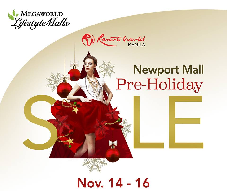 Newport Mall Pre-Holiday Sale November 2014