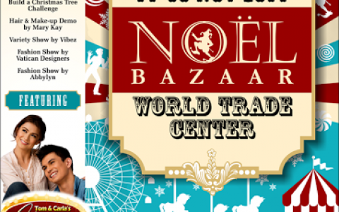 Noel Bazaar @ World Trade Center November 2014