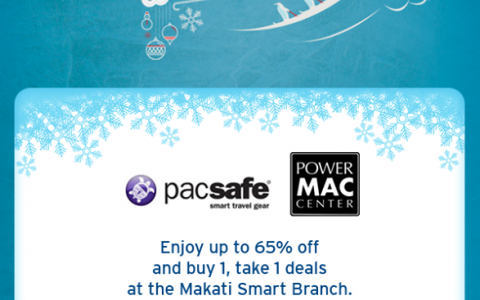 Pacsafe and Power Mac Center Sale @ Makati Smart Branch November 2014