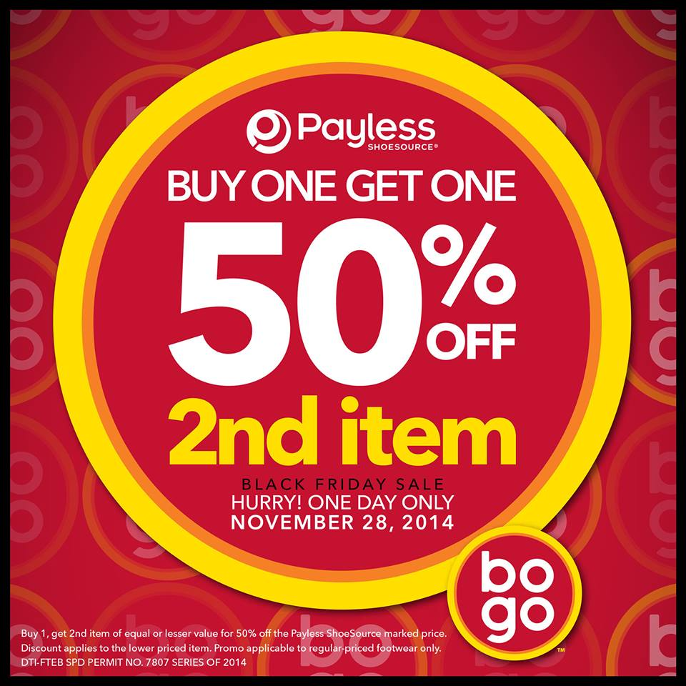Payless Shoesource Black Friday Sale November 2014