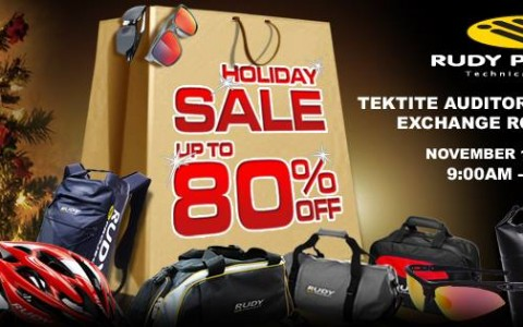 Rudy Project Holiday Sale @ Tektite Building November 2014