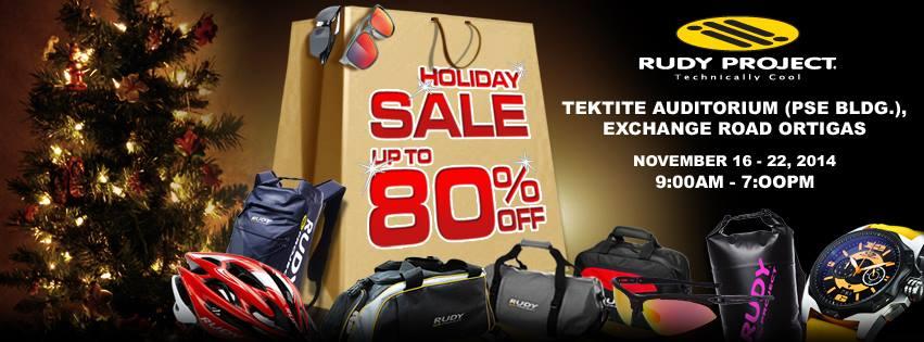 Rudy Project Holiday Sale @ Tektite Building November 2014