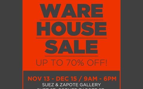 Teammanila Warehouse Sale @ Suez & Zapote Gallery November - December 2014
