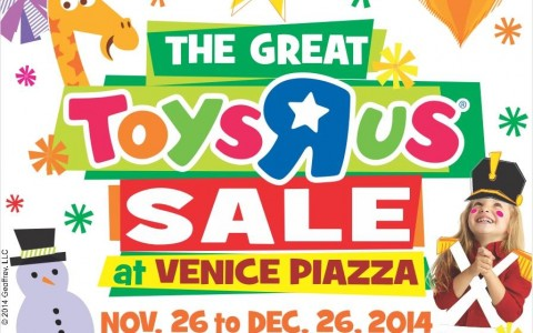 The Great Toys R Us Sale @ Venice Piazza November 2014