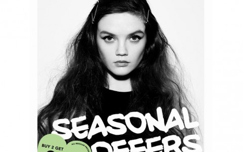 Topshop Seasonal Offer Sale @ Topshop BGC November 2014