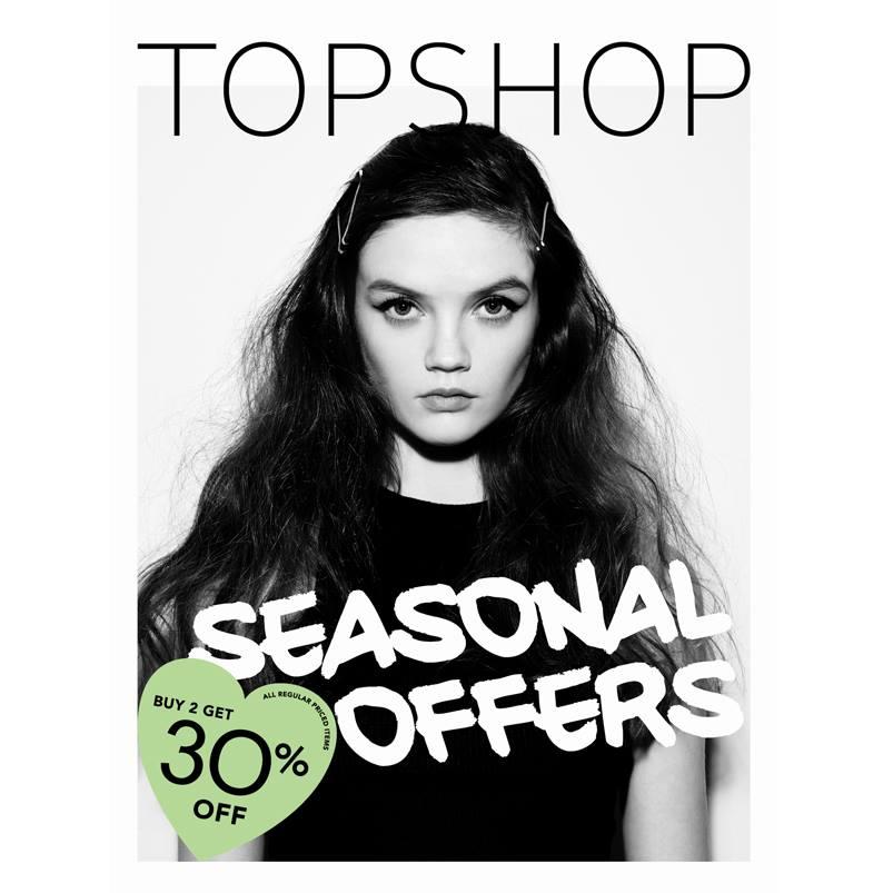 Topshop Seasonal Offer Sale @ Topshop BGC November 2014