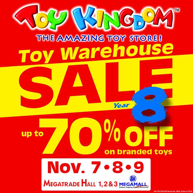 Toy Kingdom Toy Warehouse Sale @ SM Megatrade Hall November 2014