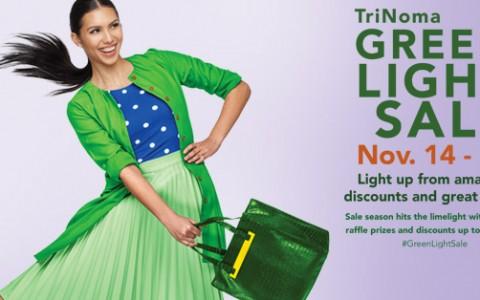 Trinoma Green Light Sale November 2014