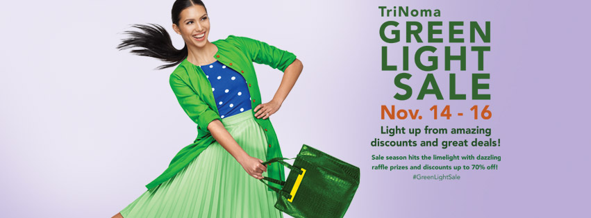 Trinoma Green Light Sale November 2014