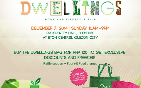 2nd Avenue Dwellings - Home and Lifestyle Fair @ Eton Centris December 2014