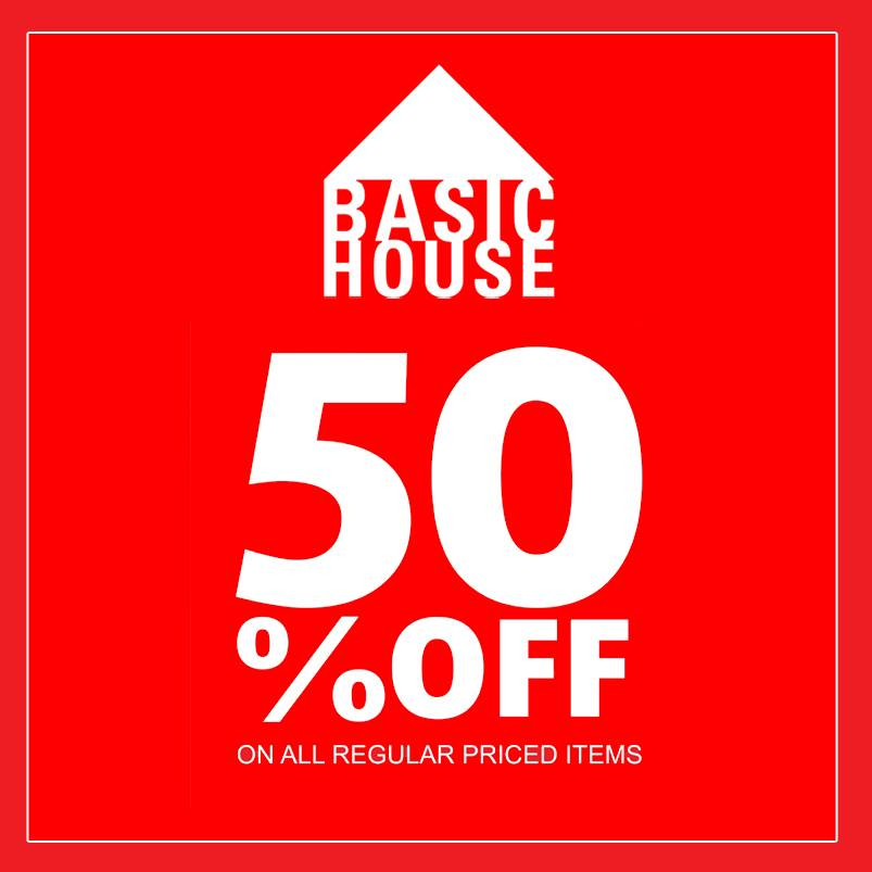 Basic House Pre-Holiday Sale December 2014