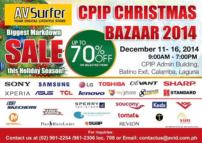 CPIP Christmas Bazaar Part 2 @ CPIP Admin Building December 2014