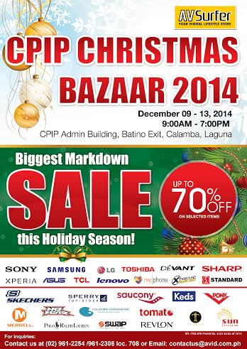 CPIP Christmas Bazaar @ CPIP Admin Building December 2014