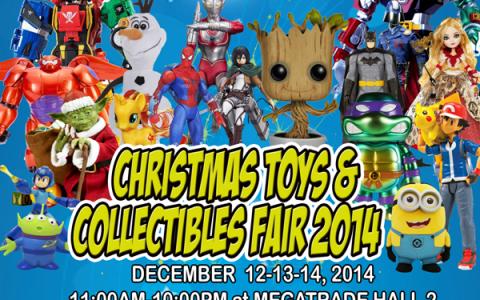 Christmas Toys and Collectibles Fair 2014 @ SM Megatrade Hall December 2014