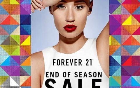 Forever 21 End of Season Sale December - January 2015