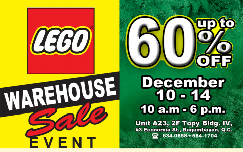 Lego Warehouse Sale @ Topys Place Libis December 2014