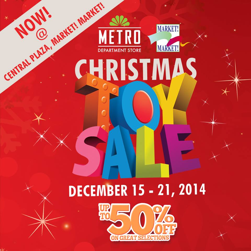 Metro Department Store Christmas Toy Sale @ Market Market December 2014