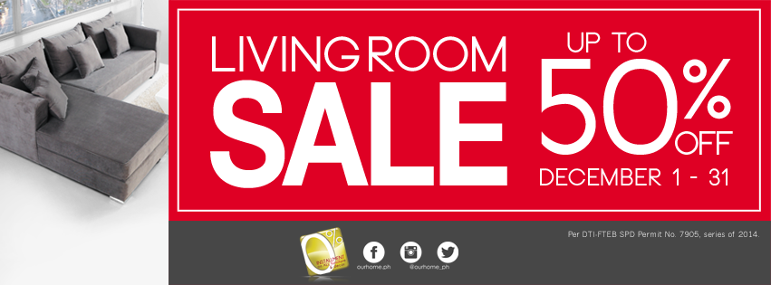 Our Home Living Room Sale December 2014