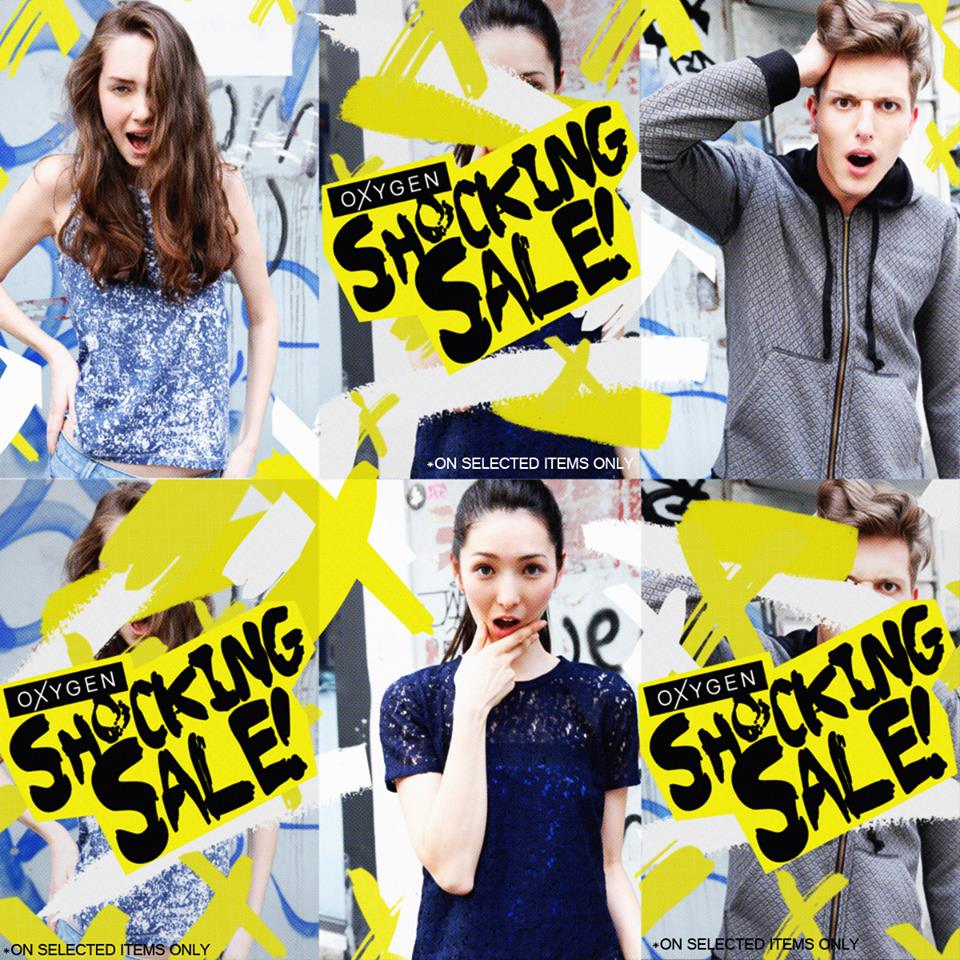 Oxygen Shocking Sale December - January 2015