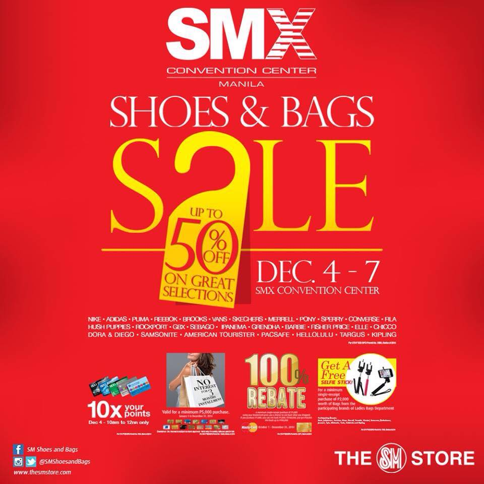 Shoes & Bags Sale @ SMX Convention Center December 2014