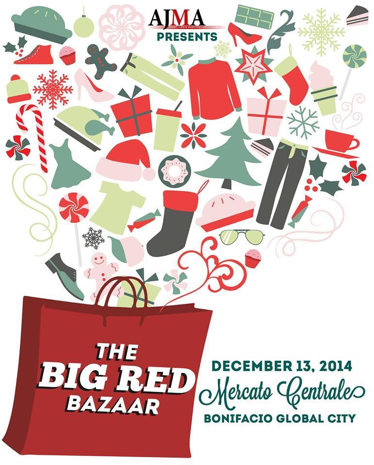 AJMA The Big Red Bazaar @ Mercato Centrale BGC December 2014