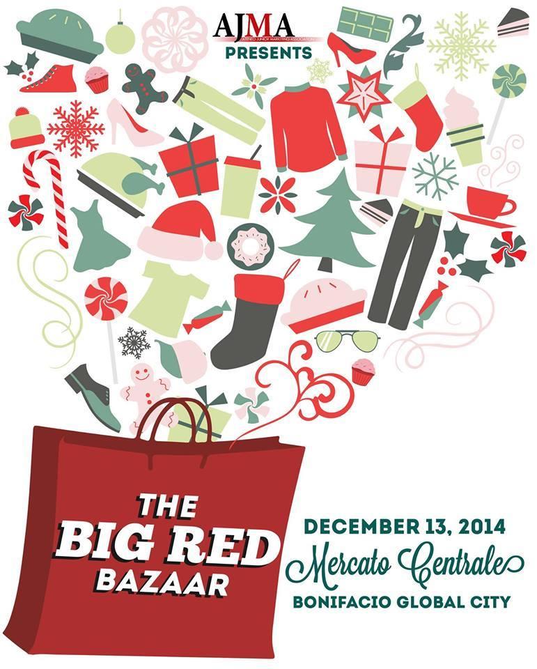 AJMA The Big Red Bazaar @ Mercato Centrale BGC December 2014