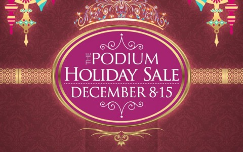The Podium Mall Holiday Sale December 2014