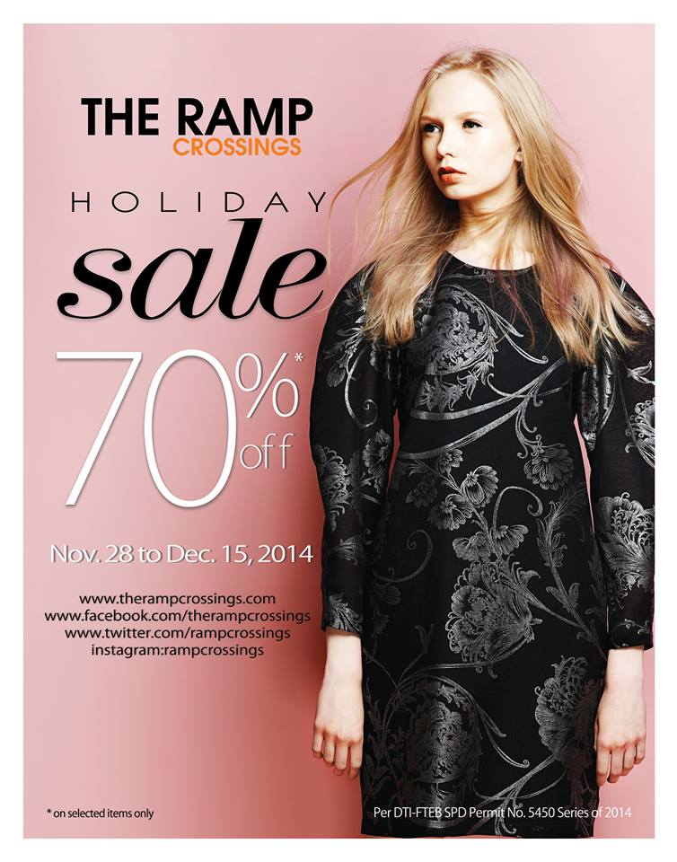 The Ramp Crossings Holiday Sale December 2014