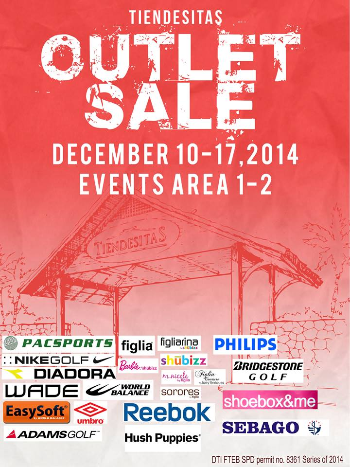 Tiendesitas Outlet Sale December 2014