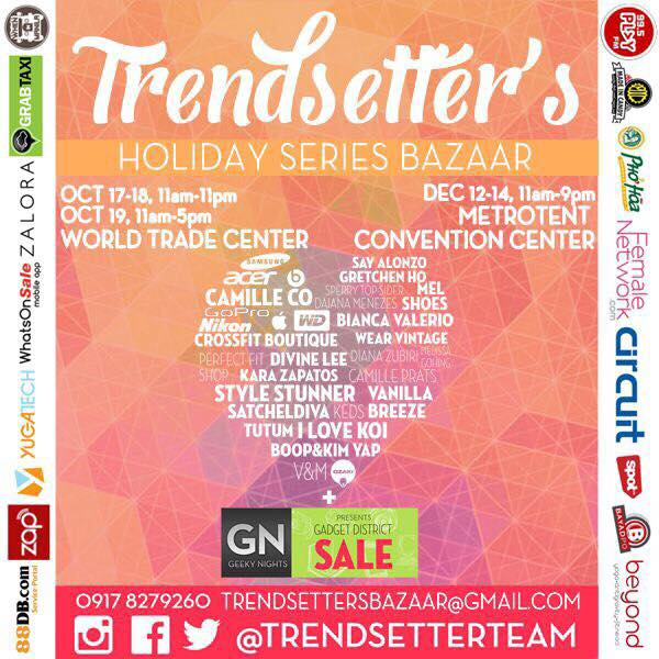 Trendsetter's Holiday Series Bazaar @ Metro Tent Convention Center October & December 2014