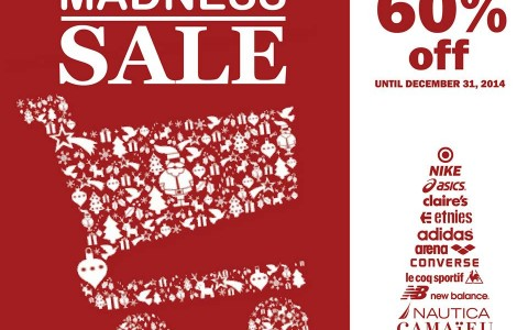 Yuletide Madness Sale @ Glorietta 4 December 2014