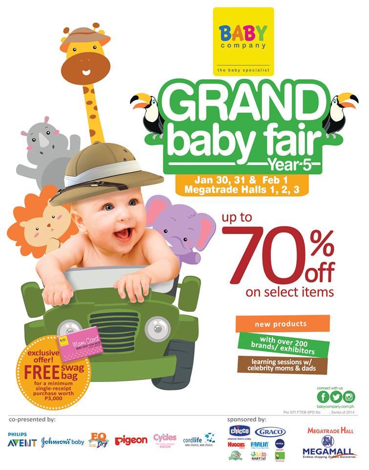 Baby Company Grand Baby Fair @ SM Megatrade Hall January - February 2015