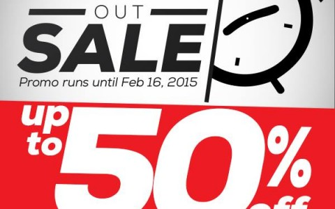Berghaus Flash Out Sale January - February 2015