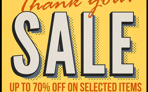 Collezione C2 Thank You Sale December - January 2015