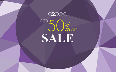 G2000 End of Season Sale January - February 2015