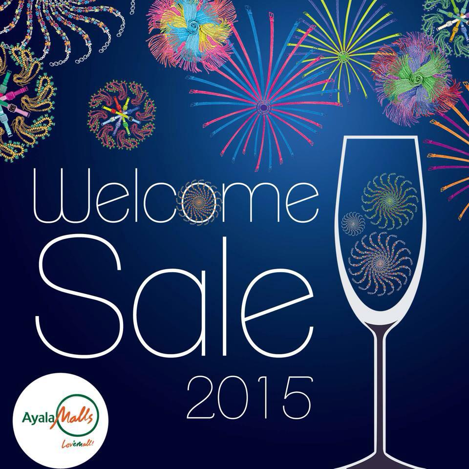 Glorietta Welcome 2015 Sale January 2015