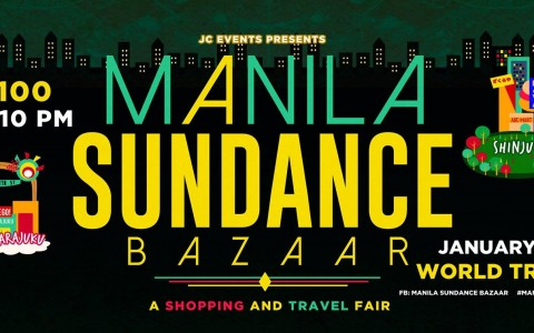 Manila Sundance Bazaar @ World Trade Center January 2015