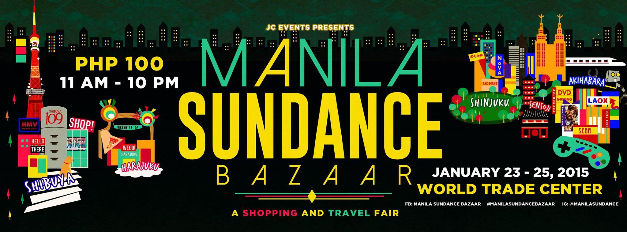Manila Sundance Bazaar @ World Trade Center January 2015